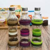 공장 도매 고품질 다채로운 물 올리브 기름 주스 유리병 (100013)