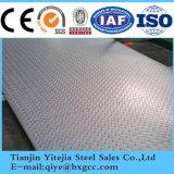 Plaque en aluminium à damier d'alimentation 5083