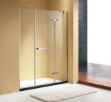 O chuveiro da ferragem das dobradiças de porta SUS304 do Semi-Frame apainela a tela de chuveiro