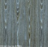 Pré aço pintado de grãos de madeira de carvalho (Cinza)