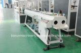 De doble husillo extrusora de plástico de PVC tubo que hace la máquina de extrusión de producción