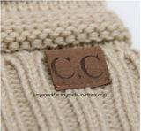 Neuer Winter-cm-beschriftenwolle-strickende Schutzkappe moderne Freizeit-Schutzkappe im Freien warmer Hut
