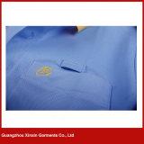Collier du jacquard des hommes personnalisés de qualité/chemise polo de manchettes (P180)