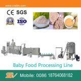 Planta industrial do comida para bebé