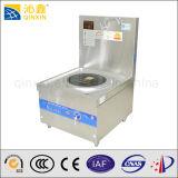 Una independiente quemador de la estufa de inducción plana Comercial