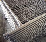 2017 2.1X2.4m適用範囲が広い電流を通された取り外し可能な塀、一時塀のパネル