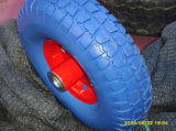[بو] 350-8 حامل متحرّك مطّاط [بو] صلبة رابية عجلات
