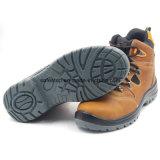 Zapato de trabajo de cuero del Mens del estilo del deporte de Nubulk del diseño de la manera Ss-052