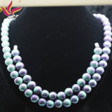 方法宝石類のハンドメイドの電気石のビードの宝石類のネックレス