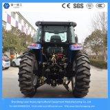 Granja del motor diesel 155HP de Foton 4WD mini/agrícola/jardín/compacto/alimentador eléctrico