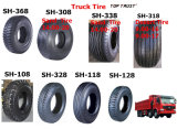Top Trust 1100-22 with Pattern Lug/Rib Chinese Factory Truck Bias Tyre