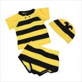男の子の年齢4-16、蜂およびバットのための良質の水着