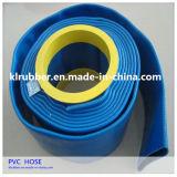 관개를 위한 질 PVC에 의하여 일렬로 세워지는 Layflat 우수한 호스
