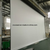 Grande schermo motorizzato elettrico supplementare della fase dello schermo di proiezione surdimensionato