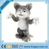 Più nuovo Figurine dell'interno dell'animale della resina del gatto della resina della decorazione 2016