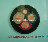 450/750V de rubber Flexibele Kabels van de Schede