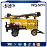 foreuse hydraulique de 200m Dfq-200W Borewell à vendre