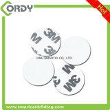 Etiqueta autoadhesiva reescribible de la etiqueta del disco NFC de la pequeña impresión barata