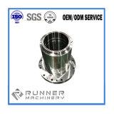 China microfusão personalizado parte da máquina de lava de alumínio usinagem CNC