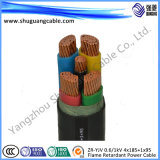 Zr-Yjv 0.6/1kv 4 x 185 + 1 x 95/LV/cavo elettrico/ignifugo