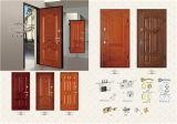 Puerta de acero Puerta de seguridad de la puerta de entrada