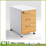 3 Gavetas Pedestal fixo de mobiliário de escritório armário de arquivos