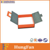 Rectángulo de regalo de papel de empaquetado impreso modificado para requisitos particulares de la joyería cosmética hecha a mano