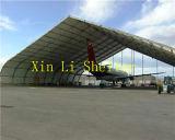 Estructura de acero resistente al agua al aire libre Avion Hangar Tienda (XL-6010025)