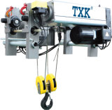 European Style Low Headroom Wire Rope Hoist