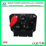 Inverseur de pouvoir de véhicule de DC12V AC220/240/110/120V 5000W avec le chargeur d'UPS (QW-M5000UPS)