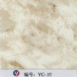 Película branca de Hydrograhic do mármore do ouro da raia da largura de Yingcai 1m
