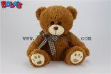 Hote 자수 발과 검사 디자인 Bowknot를 가진 판매에 의하여 채워지는 곰 연약한 장난감