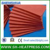 Alta Temperatura Industrial Almofada de borracha de silicone macia