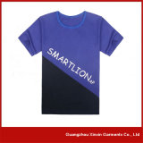 T-shirts en coton personnalisés sur mesure pour hommes (R09)