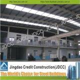 Gruppo di lavoro della struttura d'acciaio dei due pavimenti