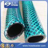 Manguito reforzado fibra del PVC de la alta calidad para el jardín