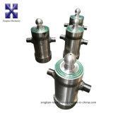 3-5 etapas Side Turn Telescopic Hydraulic Cylinder para Tipper Truck