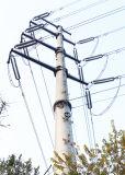 Fléau électrique d'éclairage galvanisé par tour d'énergie électrique