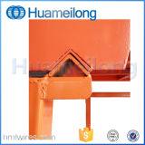 Склад для хранения металлических съемных блока стеллаж