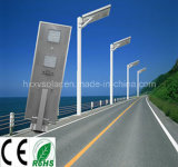 Luz de rua solar 50W do diodo emissor de luz do poder superior Ce/RoHS/IP65