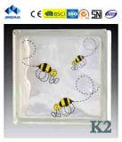 Высокое качество Jinghua художественных K-3 Окраска стекла блок/кирпича