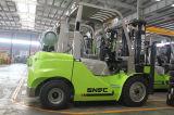 Snsc油圧ポンプ3.5トンLPGのガソリン式のフォークリフト
