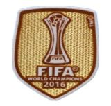 2017 رقعة 2016-2017 كرة قدم جرسيّ [أوندسما] شارة كرة قدم قميص رقعة ناد عالم بطل