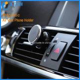 Support magnétique réglable de téléphone d'évent de véhicule de 360 degrés