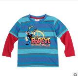 La nouvelle de l'usure d'enfants garçons caricature de la marque de coton T-Shirt à manches longues