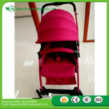 Carrinho de passeio de bebê certificado 20118 En1888 sem manipulador reversível para mercado europeu