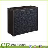 贅沢な安のデザイン不足分の黒い木の本箱