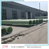 El FRP GRP tubo hueco de bobinado de fibra de vidrio