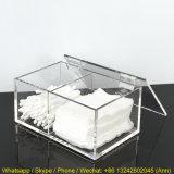 Het duidelijke Acryl Plastic Geval van de Doos/van het Plexiglas/de AcrylDoos van de Opslag