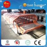 Machine de formage de panneaux de toit métallique en tôle d'acier de haute qualité